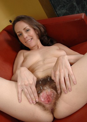Love hairy mature pussy spreading
