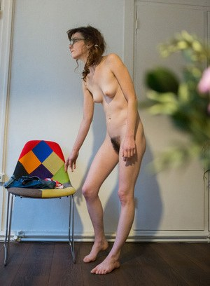 young hairy nudist girl