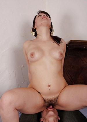 Hairy Face Sitting Porn